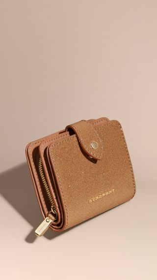 Glitter Patent London Leather Wallet