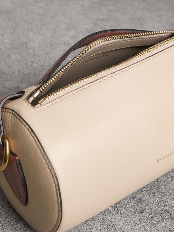 Sac The Barrel en cuir (Calcaire/rose Cendré) - Femme | Burberry Canada - cell image 3