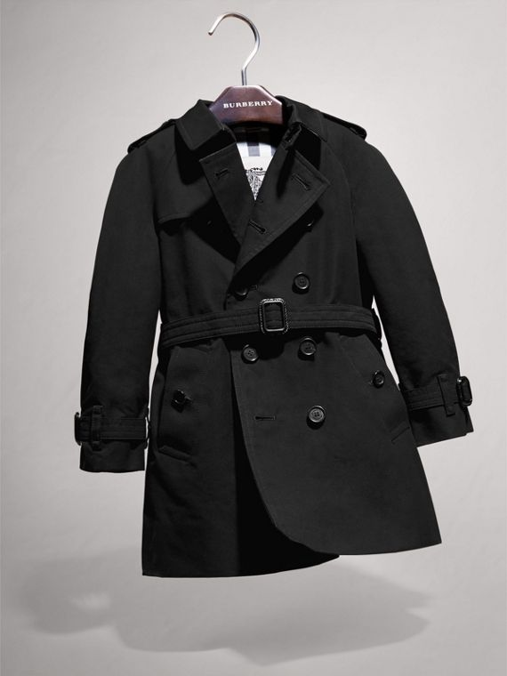 The Wiltshire – Heritage 系列風衣 (黑色) | Burberry - cell image 2