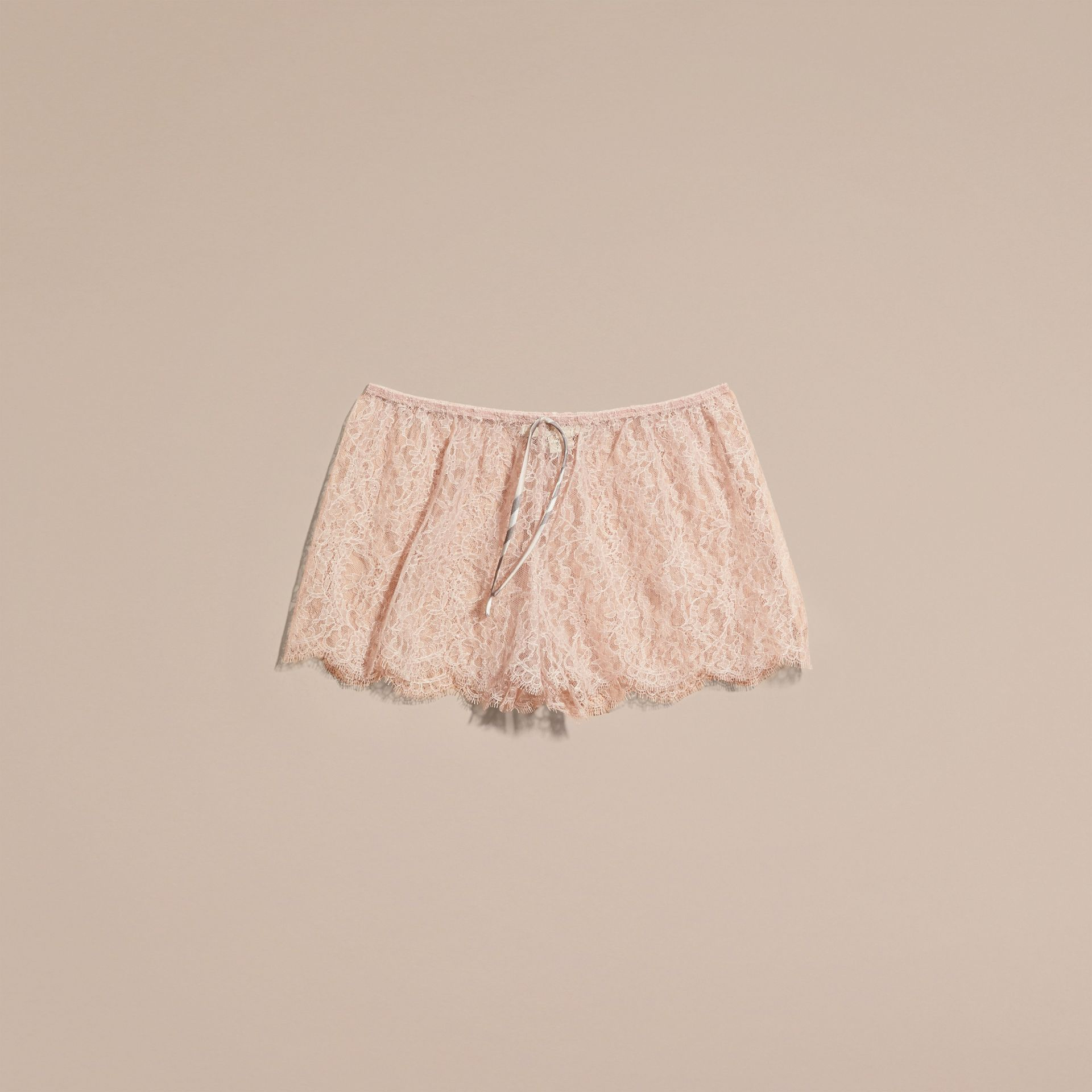Floral French Lace Shorts - gallery image 4