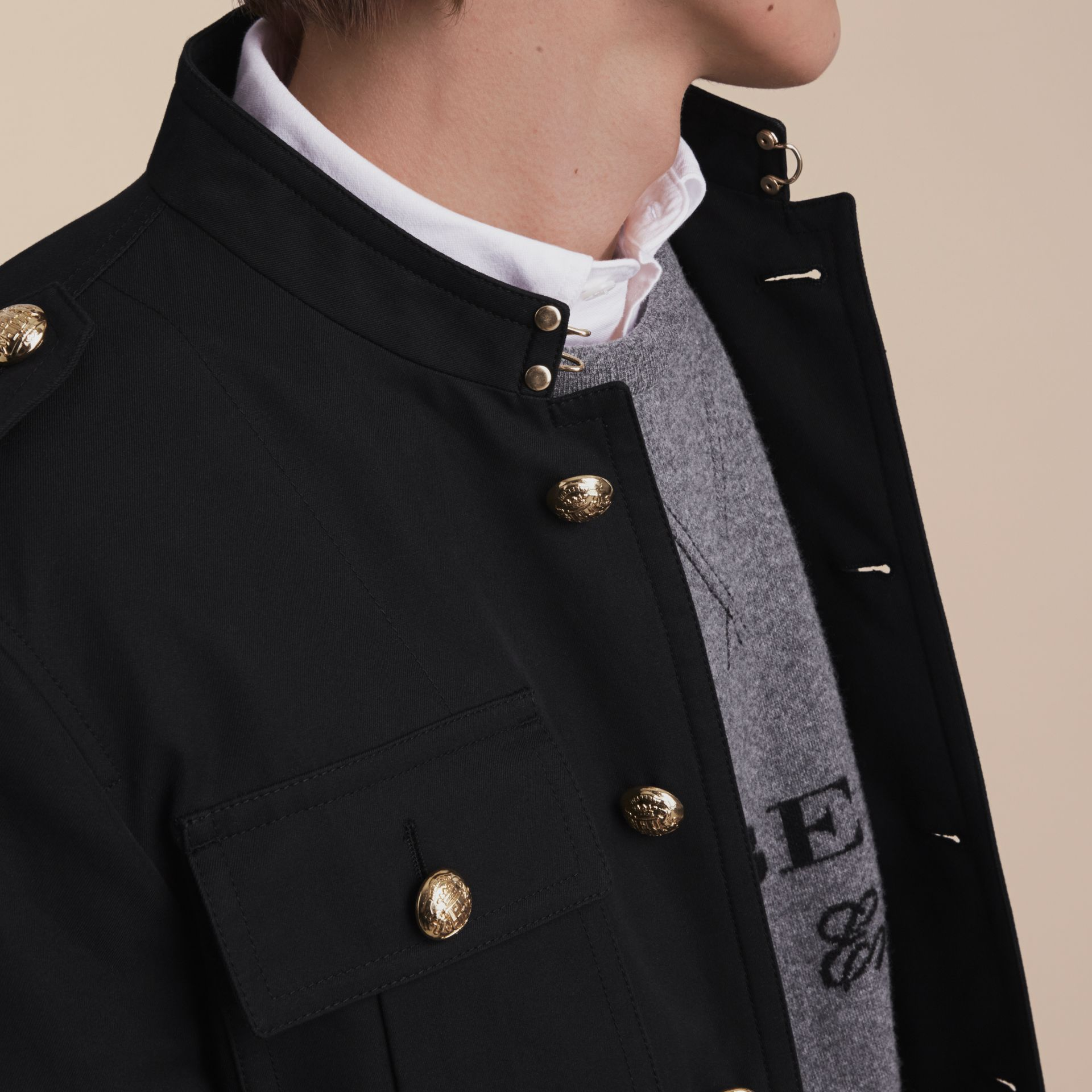 Military Cotton Jacket - gallery image 5