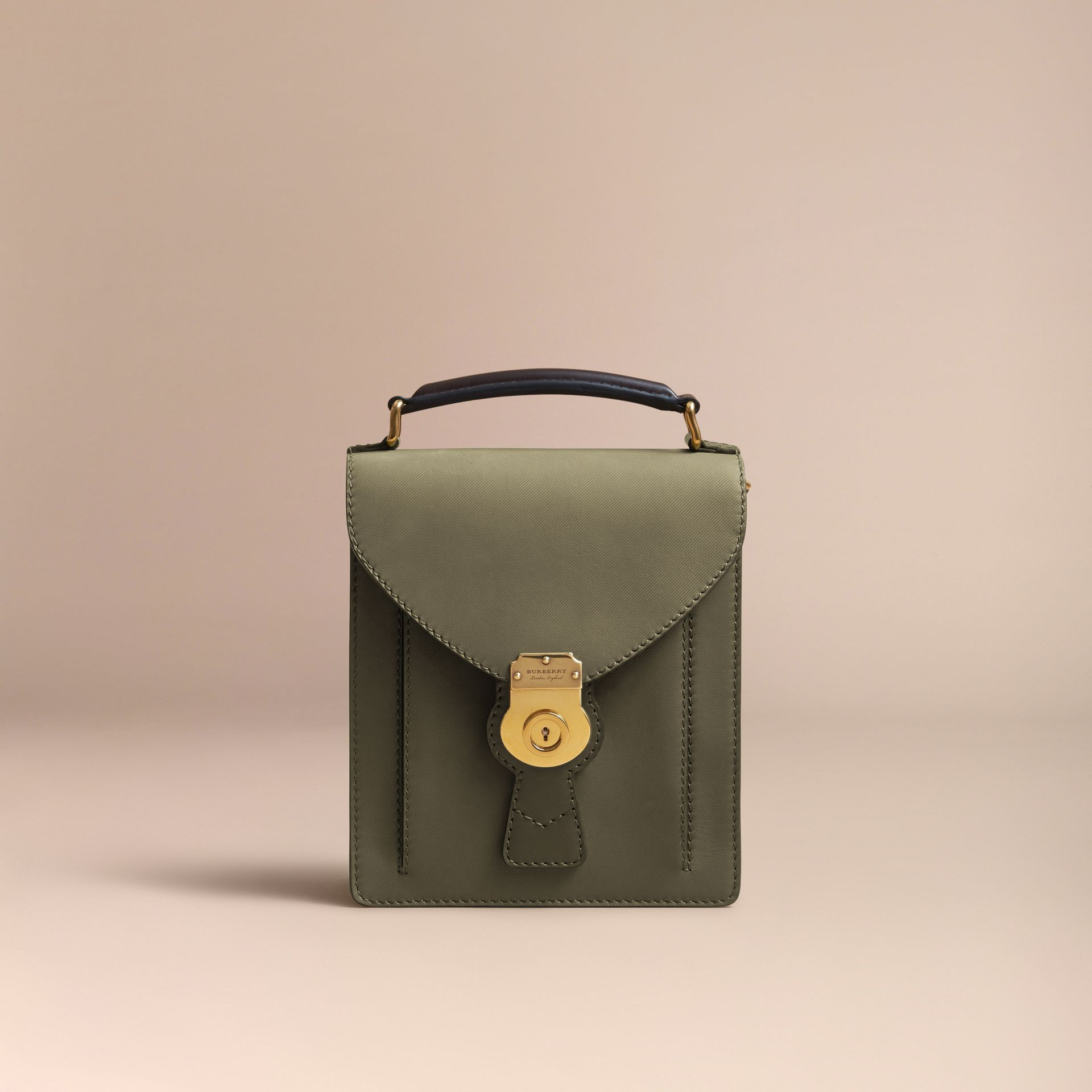 The Small DK88 Satchel in Moss Green - Men | Burberry United Kingdom - gallery image 6