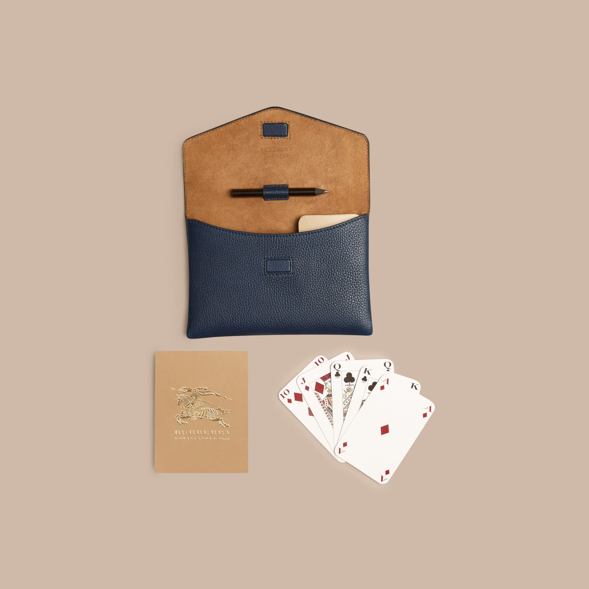 Set carte da bridge (Navy Intenso) | Burberry - immagine della galleria 5