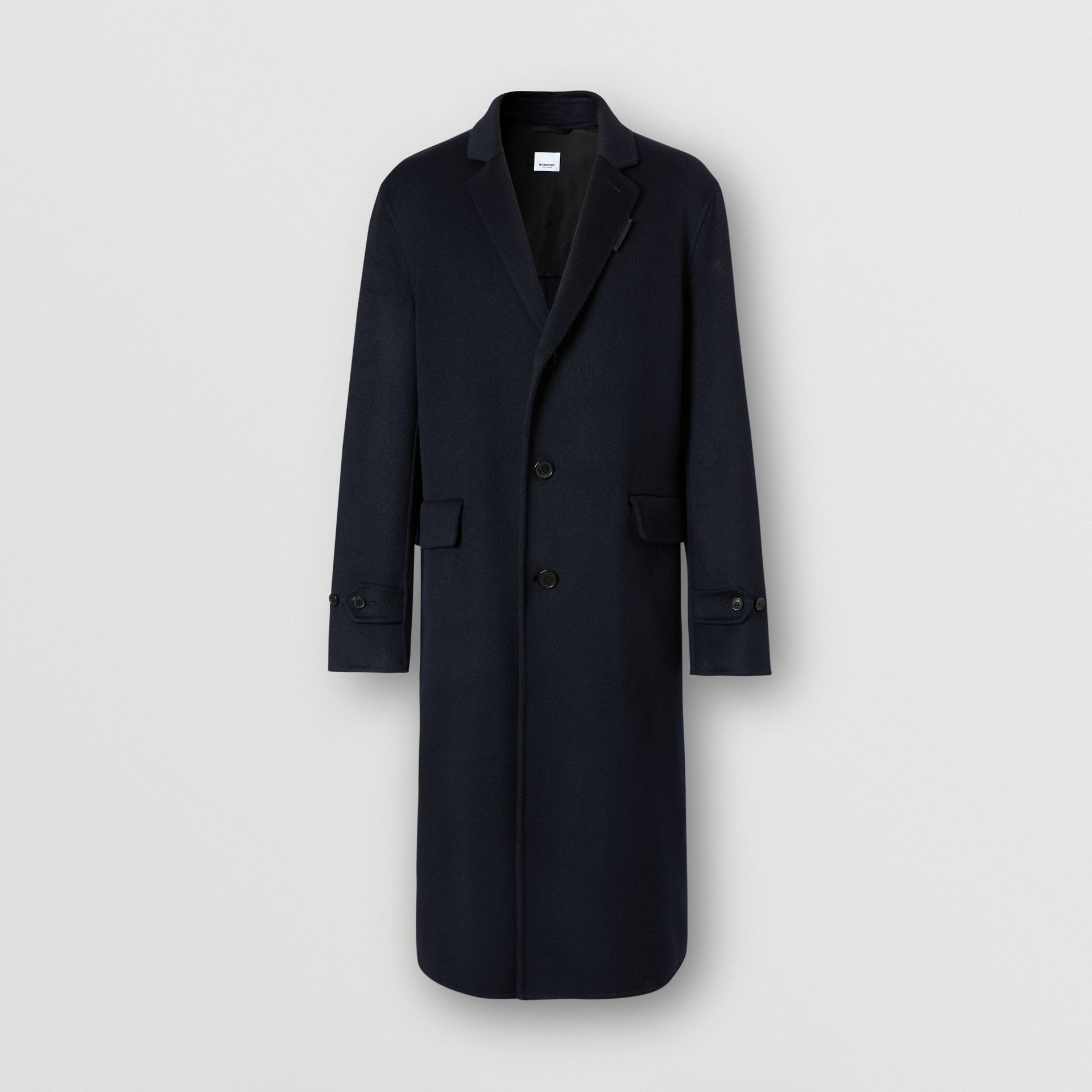 Cashmere Lab Coat in Navy - Men | Burberry Australia - gallery image 3