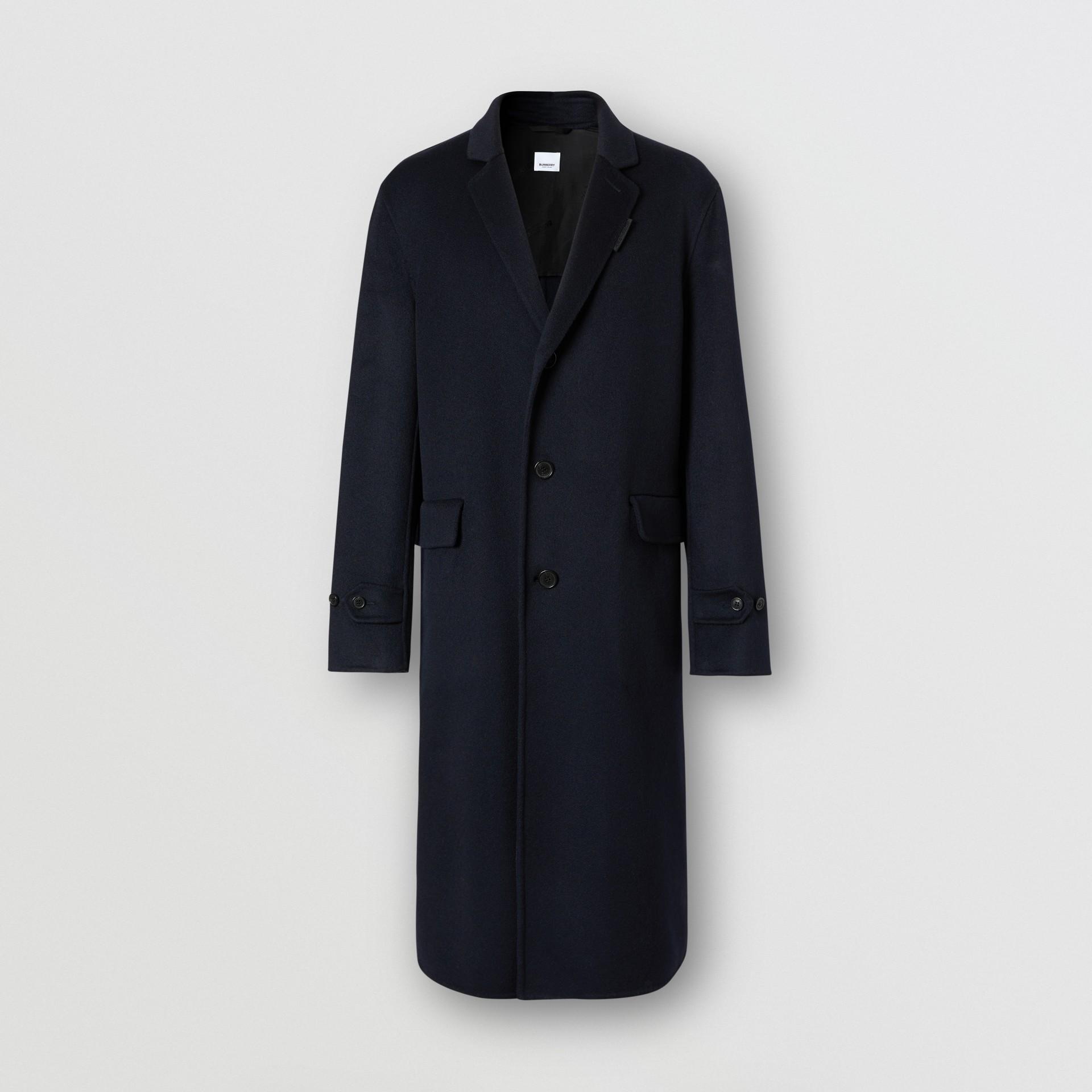 Пальто Lab Coat из кашемира (Темно-синий) - Для мужчин | Burberry - изображение 3
