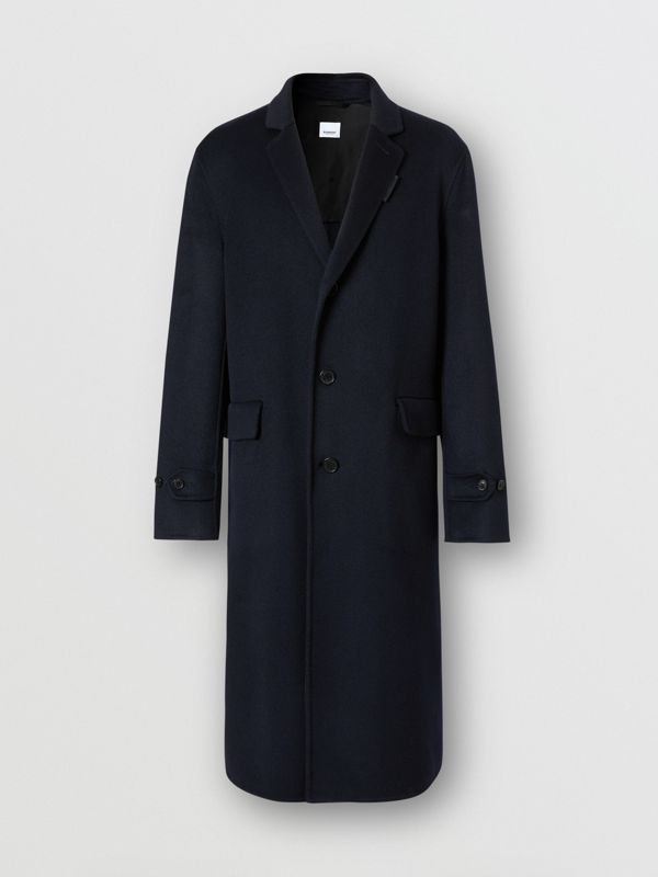 Cashmere Lab Coat in Navy - Men | Burberry Australia - cell image 3
