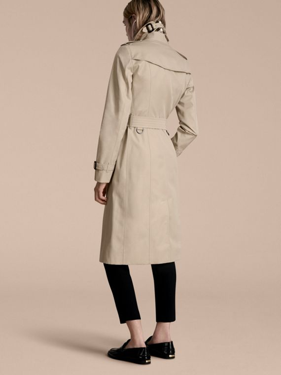 Stone The Sandringham – Extra-long Heritage Trench Coat Stone - cell image 2