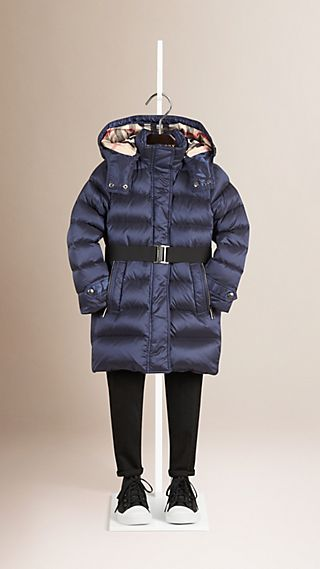 Showerproof Down-filled Puffer Coat