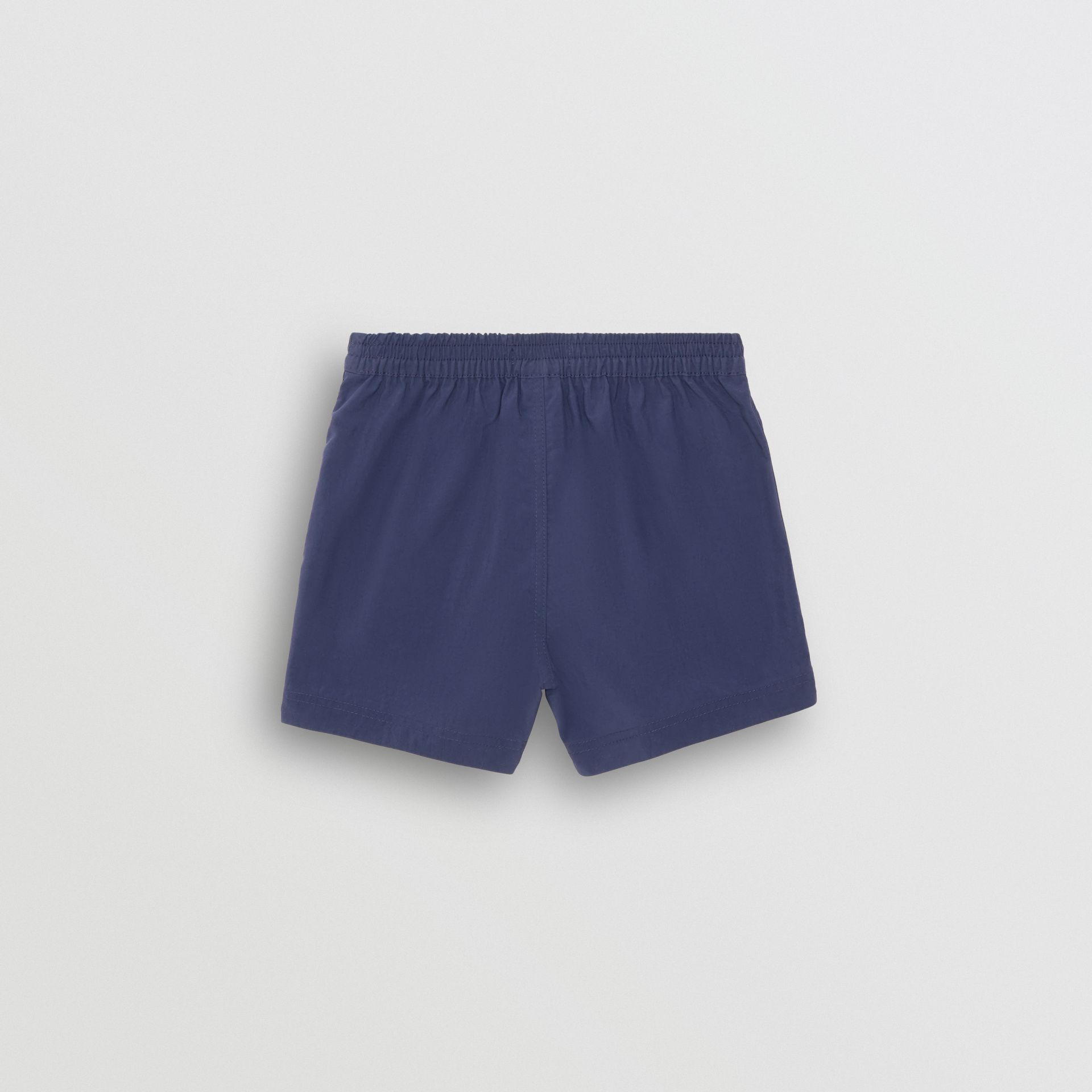 Drawcord Swim Shorts in Indigo - Children | Burberry Singapore - gallery image 3