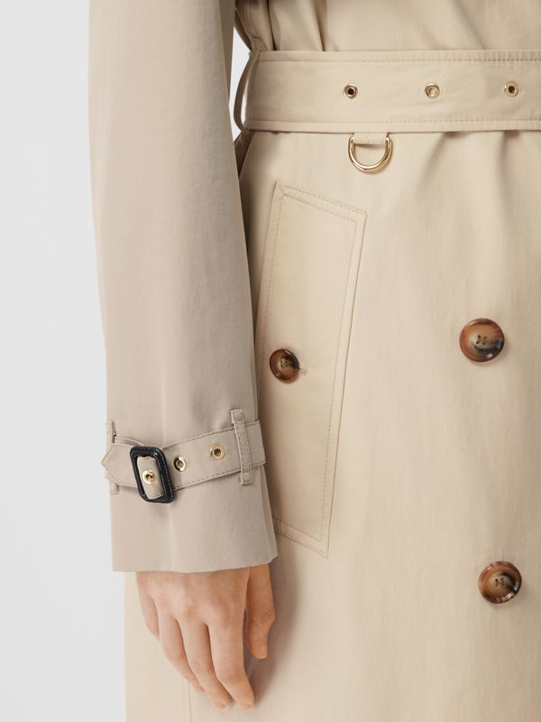 Two-tone Reconstructed Trench Coat in Light Sand - Women | Burberry Hong Kong S.A.R - cell image 3