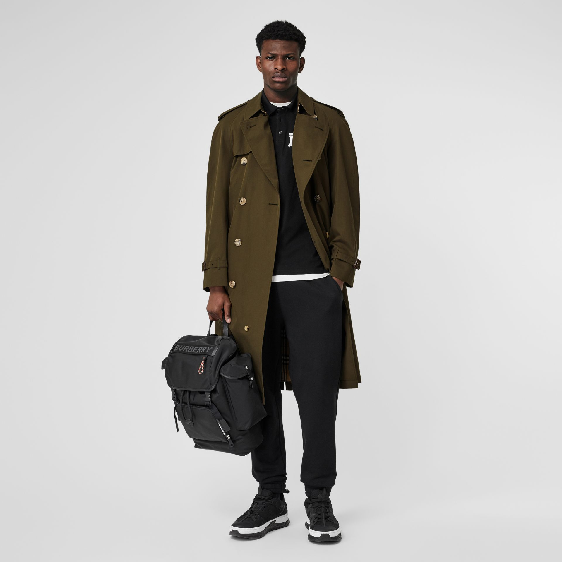 The Westminster Heritage Trench Coat in Dark Military Khaki - Men | Burberry United Kingdom - gallery image 0