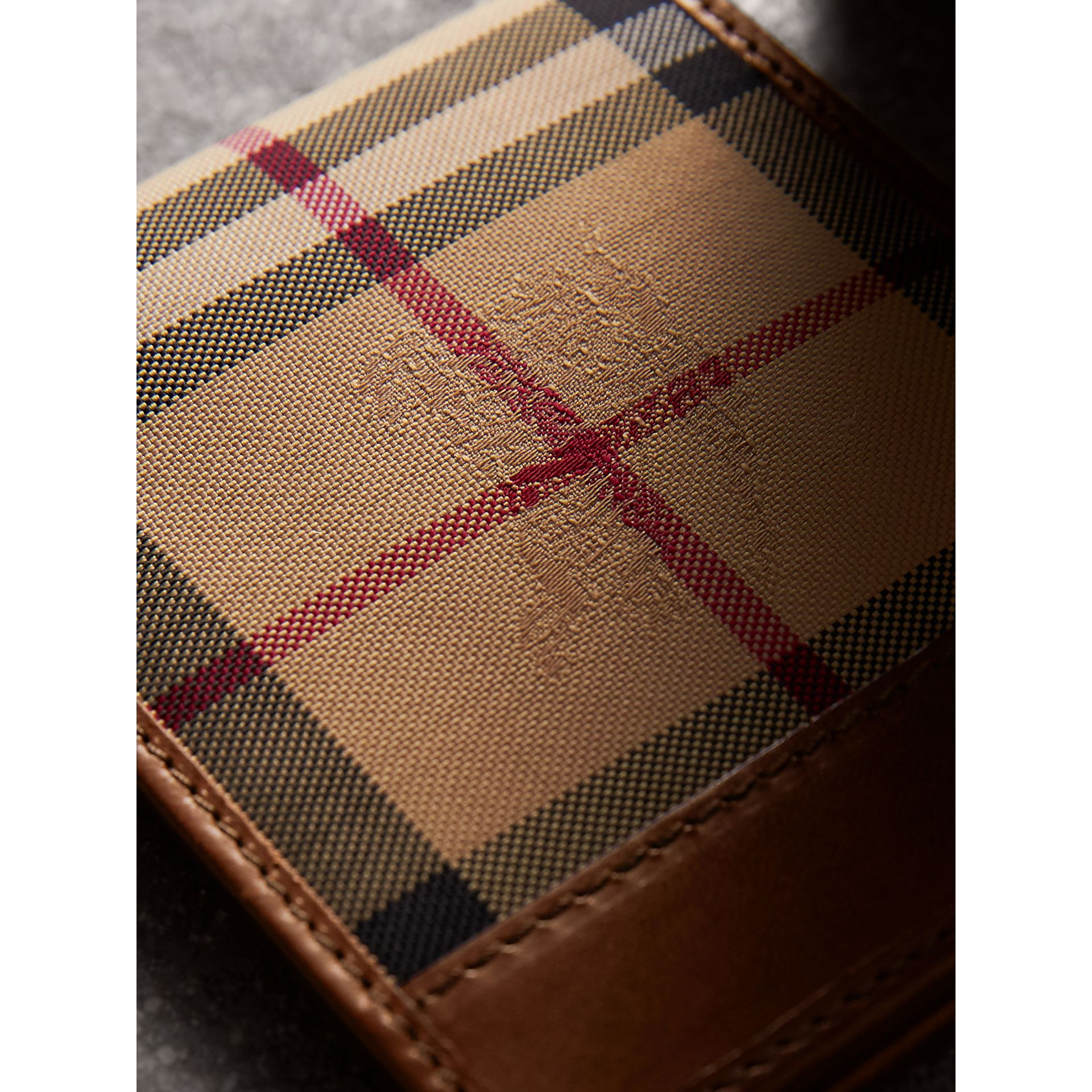 Horseferry Check ID Wallet in Tan - Men | Burberry United Kingdom - gallery image 2