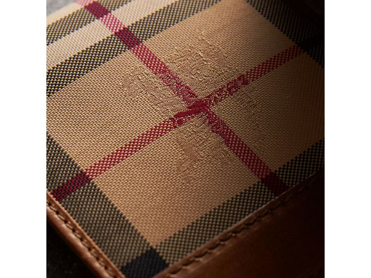 Horseferry Check ID Wallet in Tan - Men | Burberry Australia - cell image 1