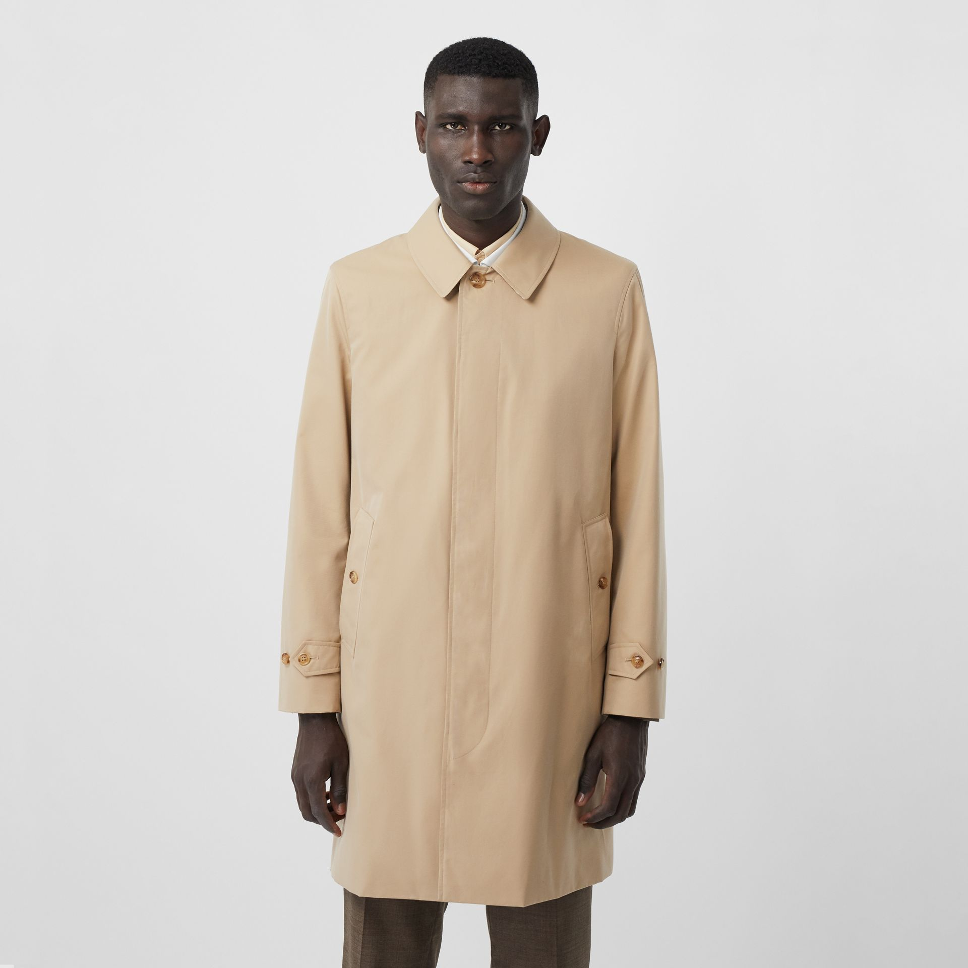 The Pimlico Car Coat in Honey - Men | Burberry Australia - gallery image 7