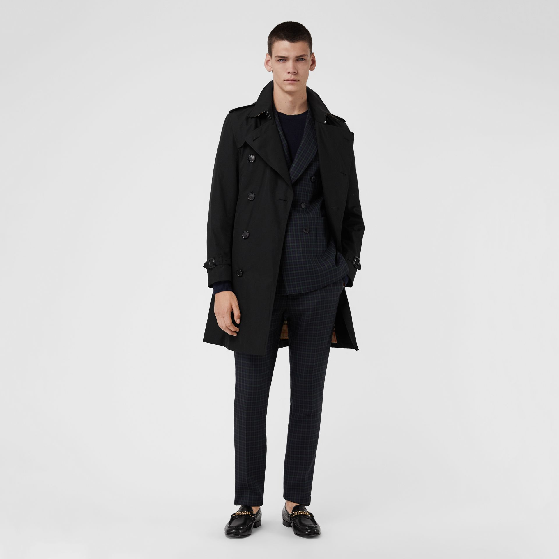 The Kensington - Trench coat Heritage (Preto) | Burberry - galeria de imagens 6