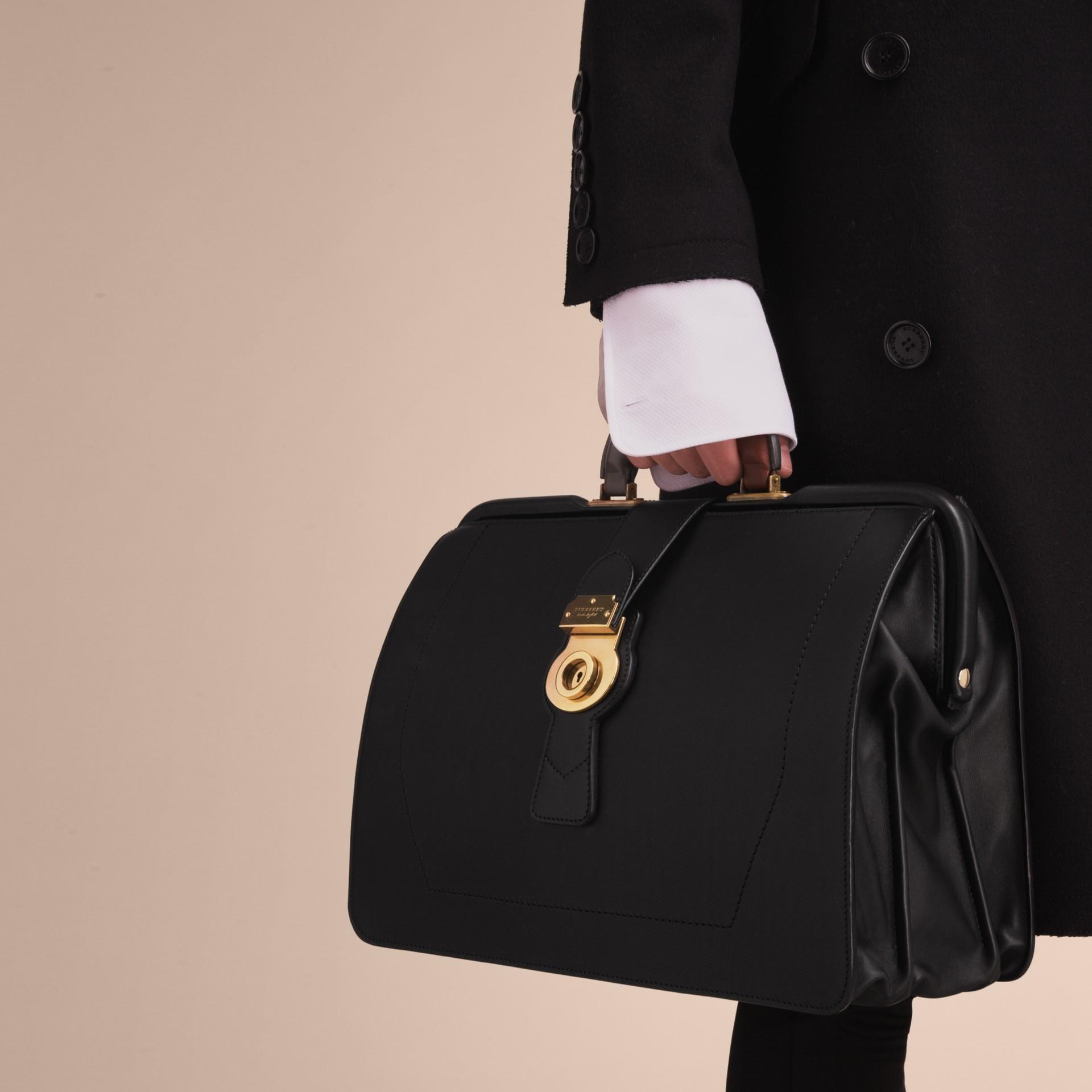 The DK88 Doctor's Bag in Black - Men | Burberry - gallery image 7