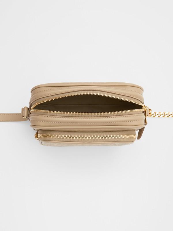 Kameratasche aus Leder mit Monogrammmuster (Honiggelb) - Damen | Burberry - cell image 3