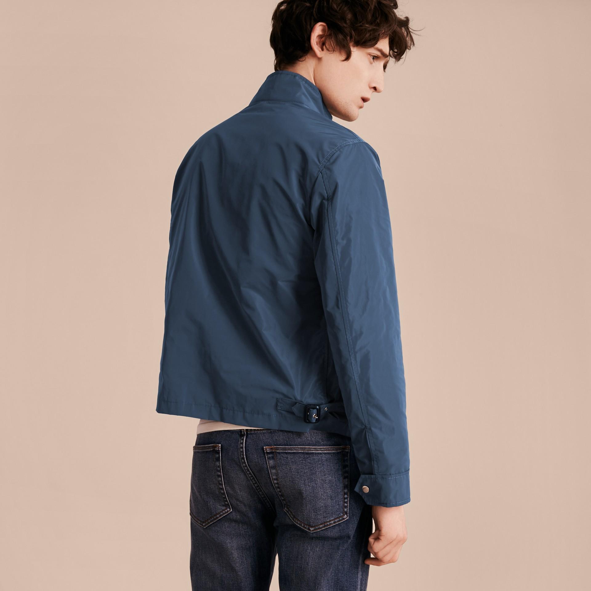 Steel blue Lightweight Technical Jacket Steel Blue - gallery image 2
