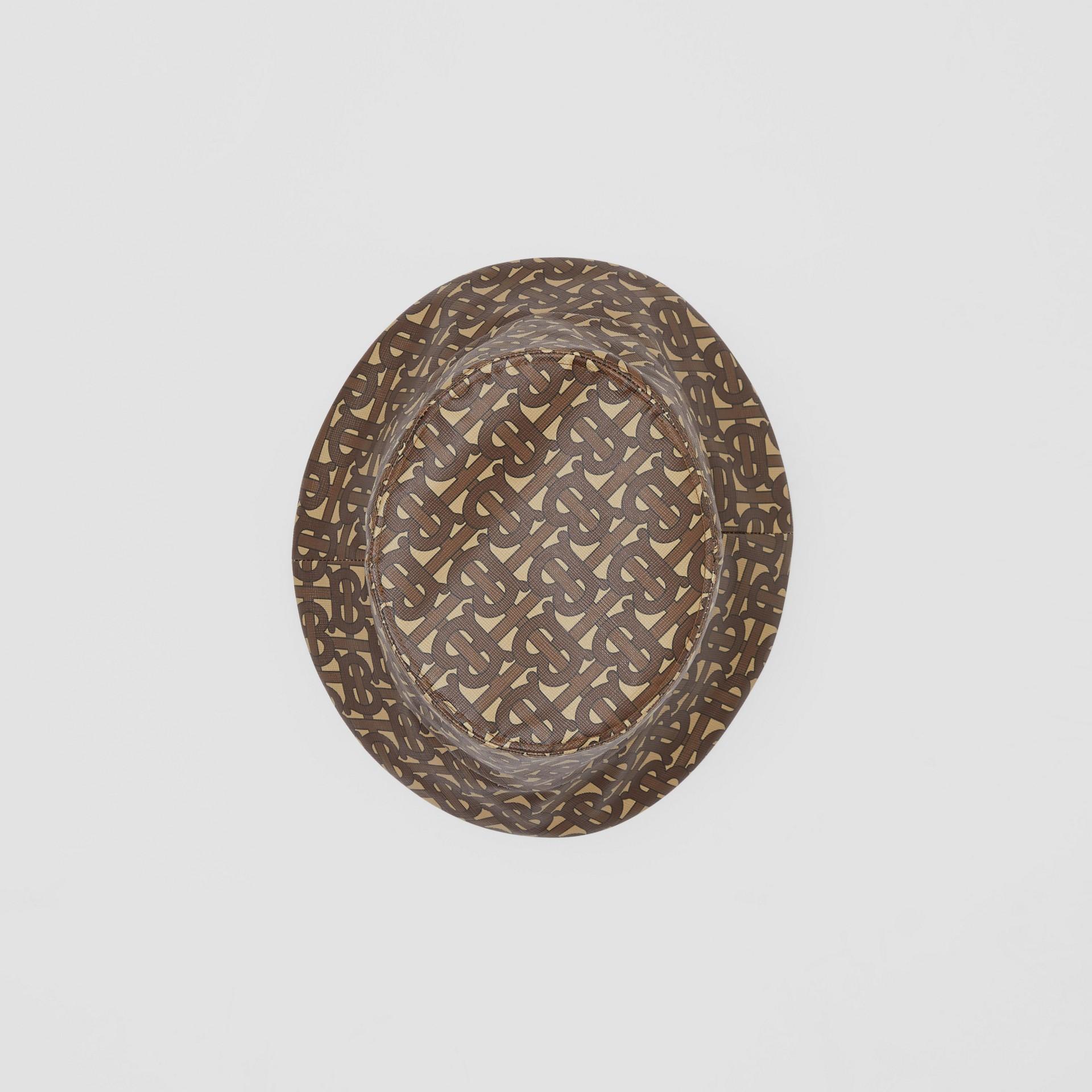 花押字印花漁夫帽 (馬勒棕) | Burberry - 圖庫照片 0
