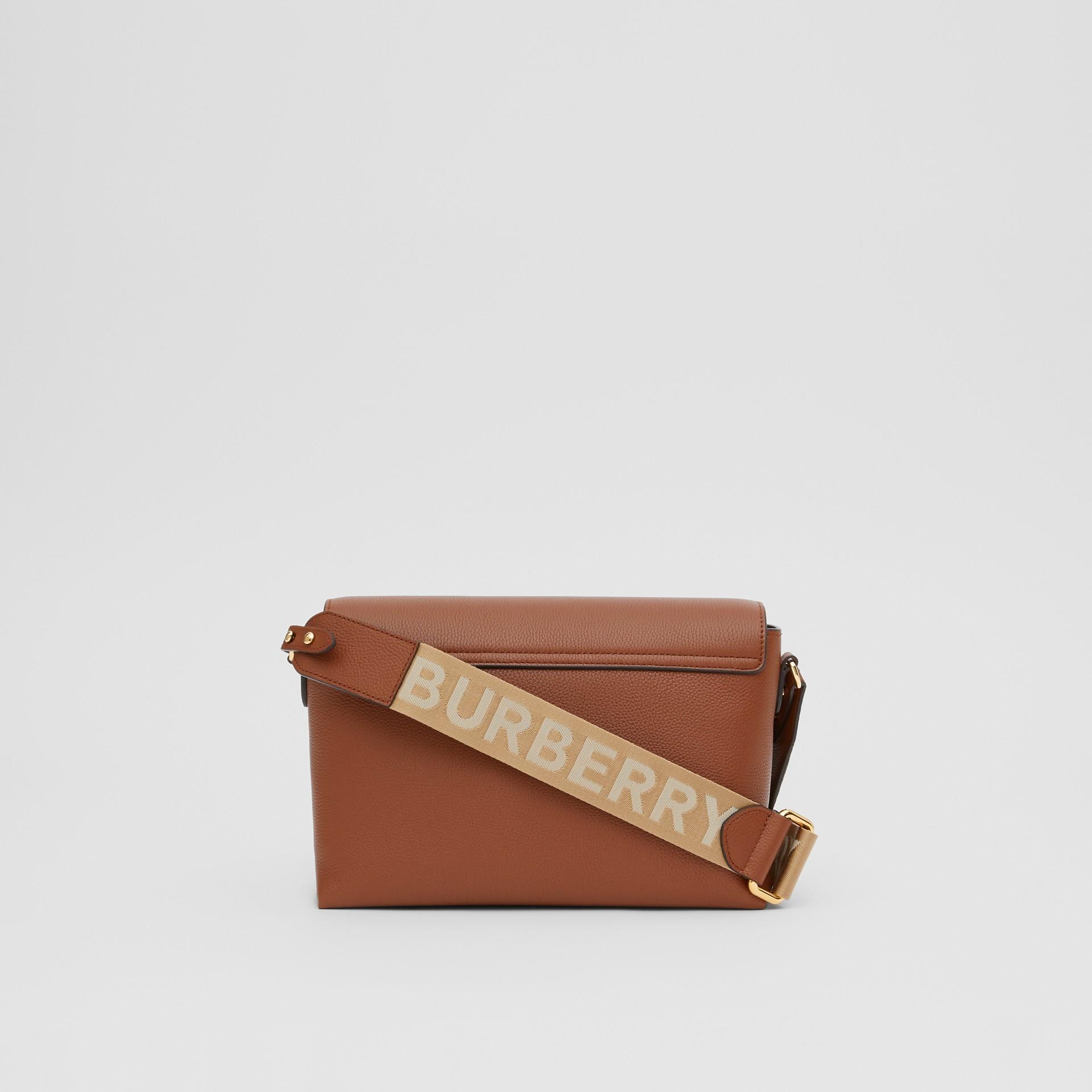 Sac à bandoulière Note en cuir Vintage check (Hâle) - Femme | Burberry Canada - photo de la galerie 7