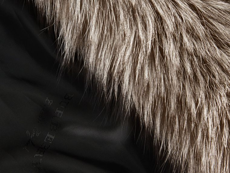 Natural Fox Fur Coat - cell image 1