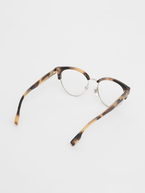 Cat-eye Optical Frames in Bright Tortoiseshell - Women | Burberry - cell image 3