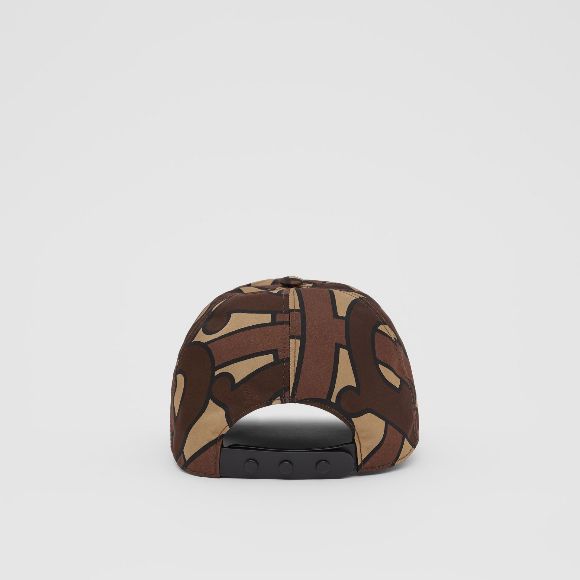 Monogram Print Baseball Cap in Bridle Brown | Burberry United Kingdom - gallery image 6