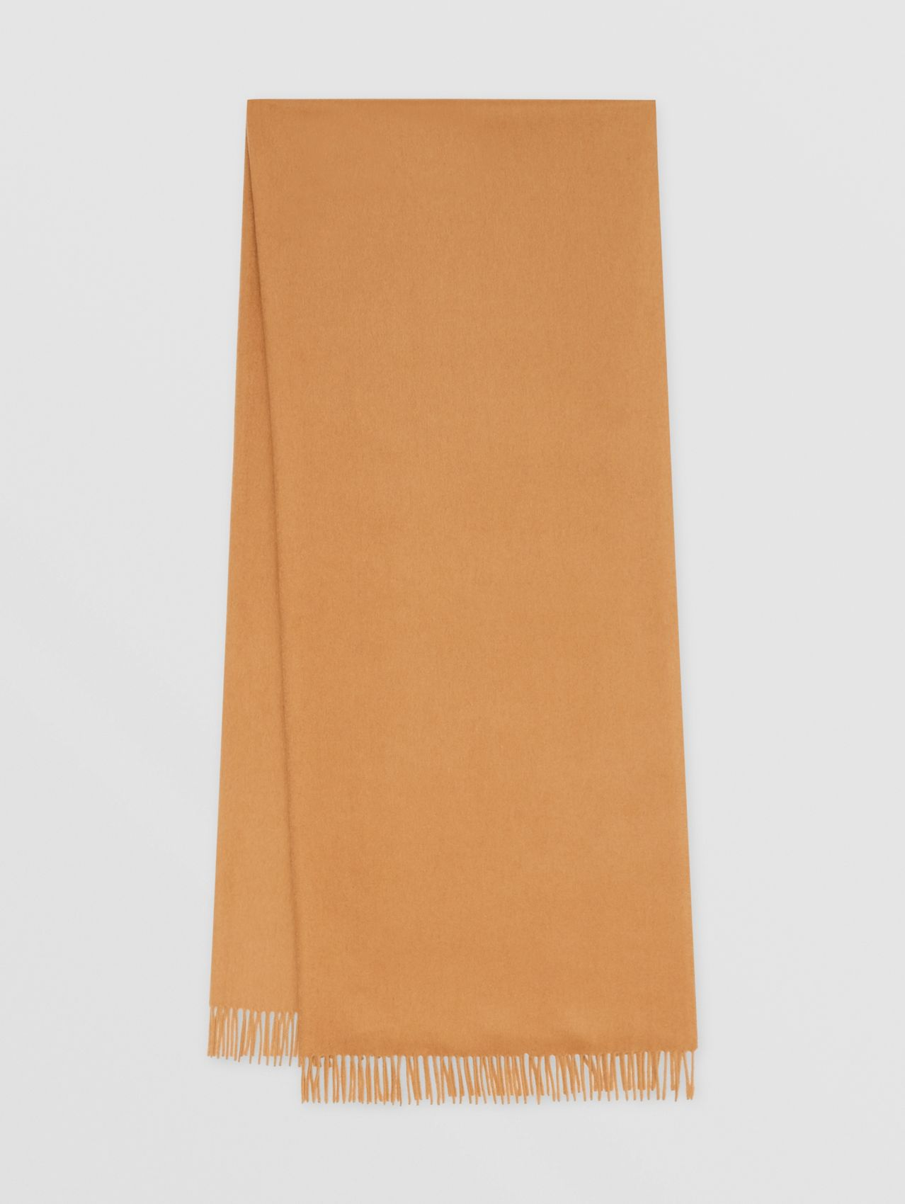 Monogram Motif Regenerated Cashmere Wool Scarf in Beige