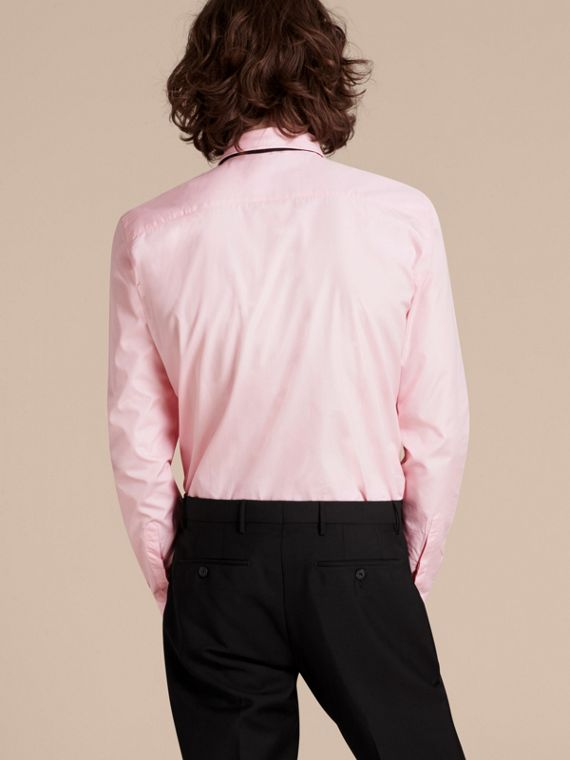Slim Fit Cotton Poplin Shirt - Men | Burberry - cell image 2