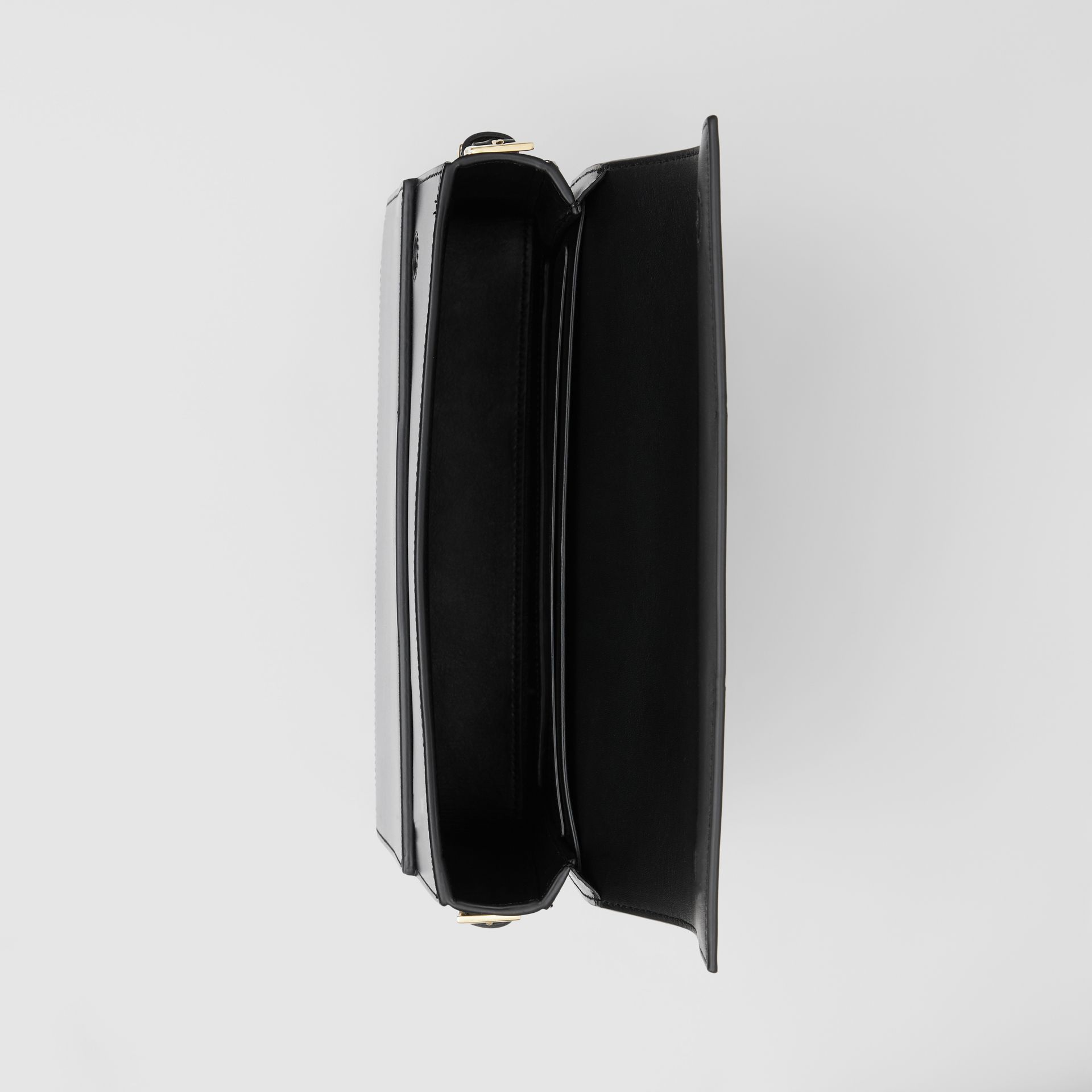 Large Leather Grace Bag in Black - Women | Burberry - gallery image 4
