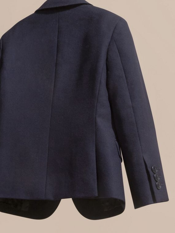 Navy Wool Blazer - cell image 3
