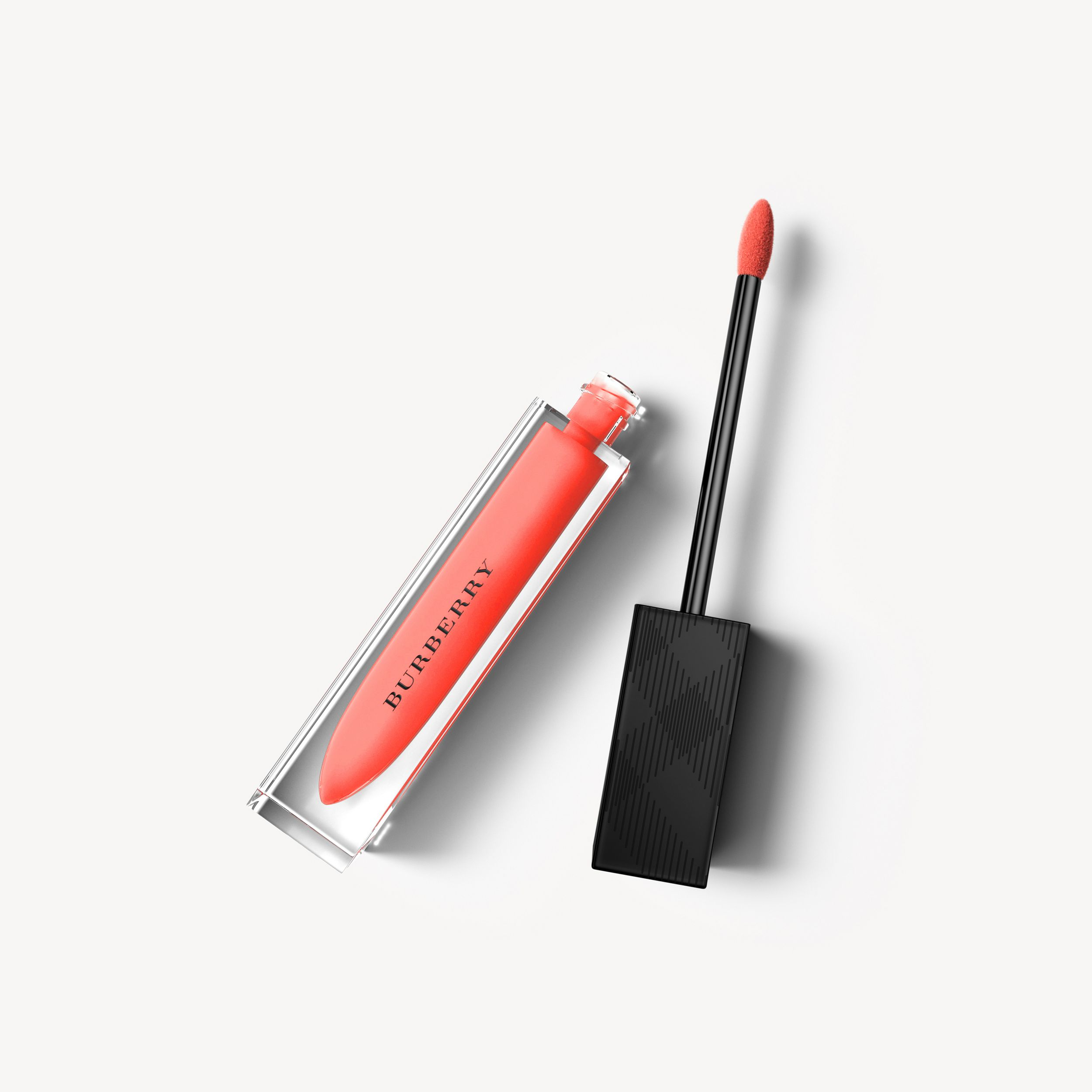 Burberry Kisses Lip Lacquer – Bright Coral No.26 - Women | Burberry - 1