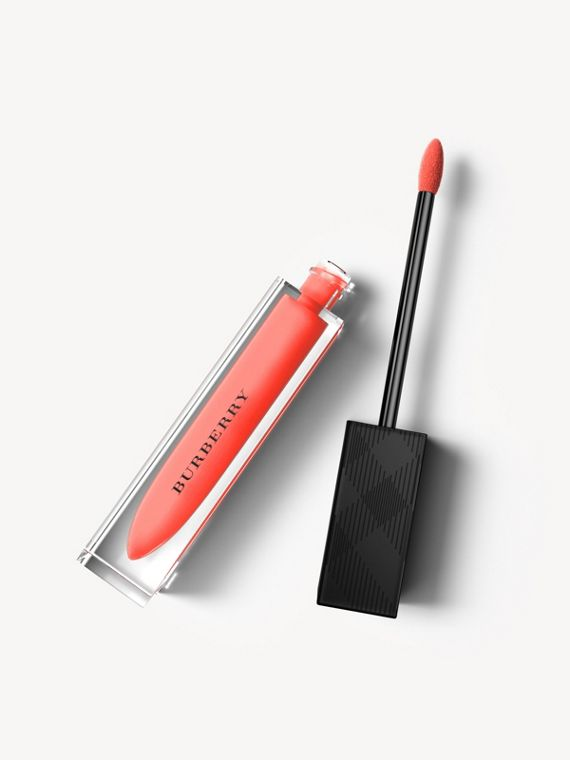 Batom líquido Burberry Kisses – Bright Coral No.26