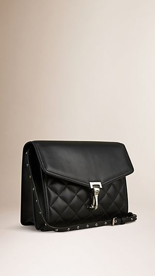 Small Quilted Leather Crossbody Bag