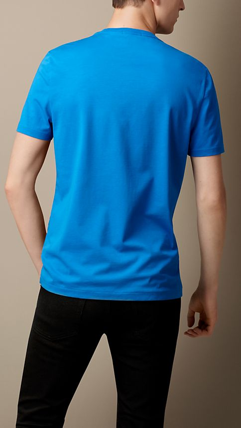 Bright opal Liquid Soft Cotton T-Shirt - Image 2