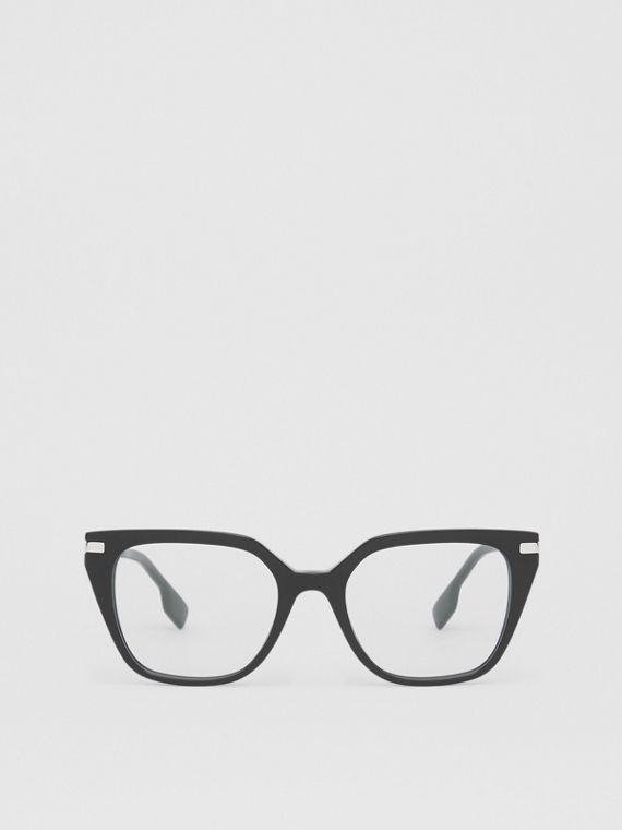 Monogram Motif Square Optical Frames in Black
