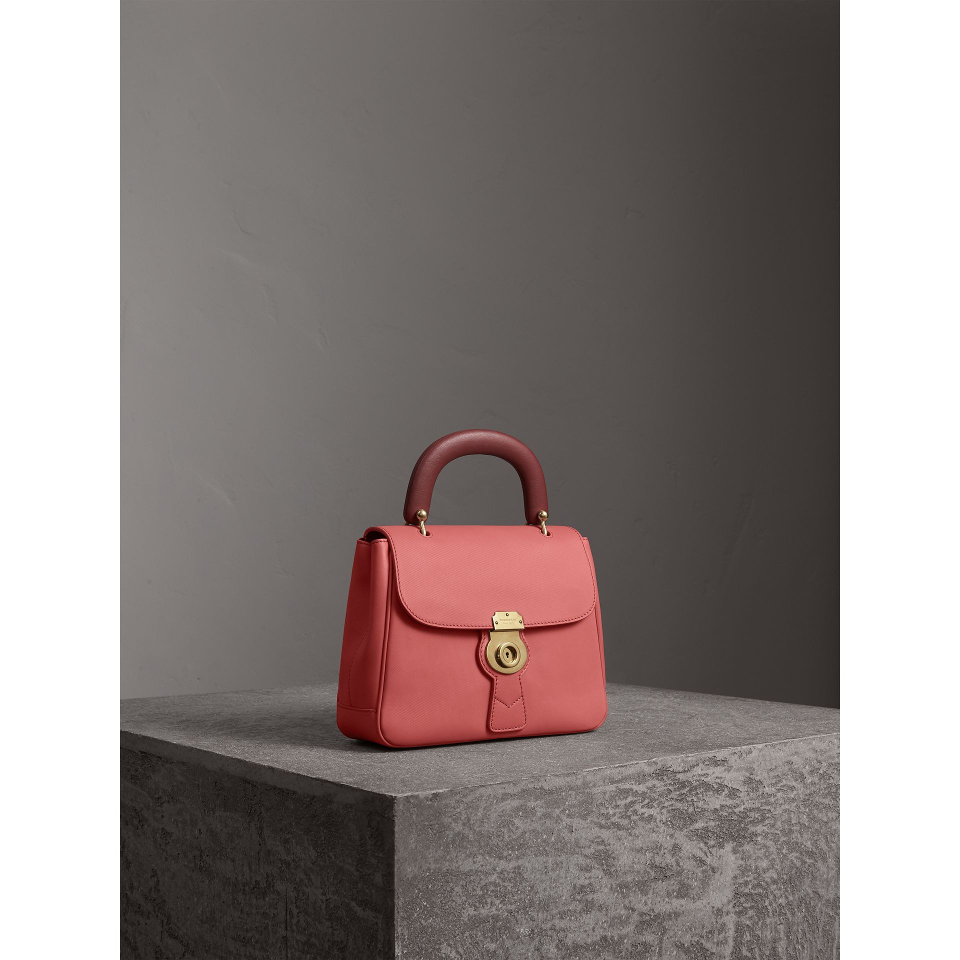 The Medium DK88 Top Handle Bag in Blossom Pink - Women | Burberry - gallery image 5