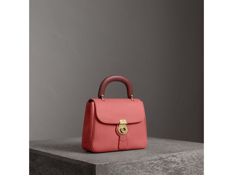 The Medium DK88 Top Handle Bag in Blossom Pink - Women | Burberry - cell image 4
