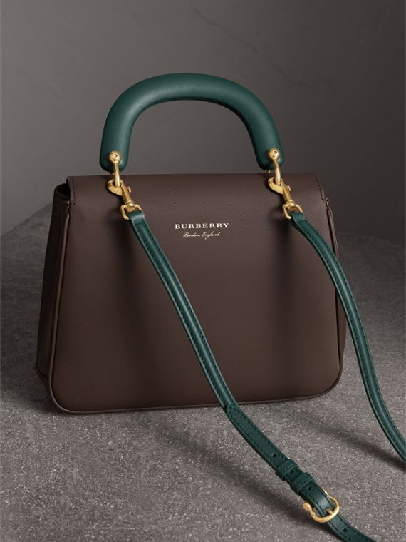 The Medium DK88 Top Handle Bag in Dark Chocolate - Women | Burberry - cell image 3