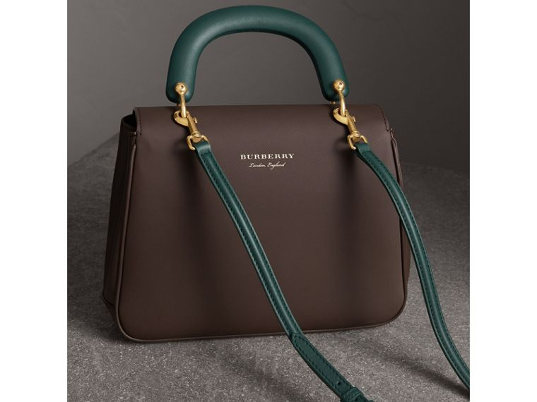 The Medium DK88 Top Handle Bag in Dark Chocolate - Women | Burberry Australia - cell image 4