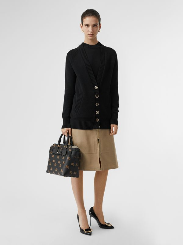 Borsa The Belt piccola in pelle con cavaliere equestre (Nero) - Donna | Burberry - cell image 2
