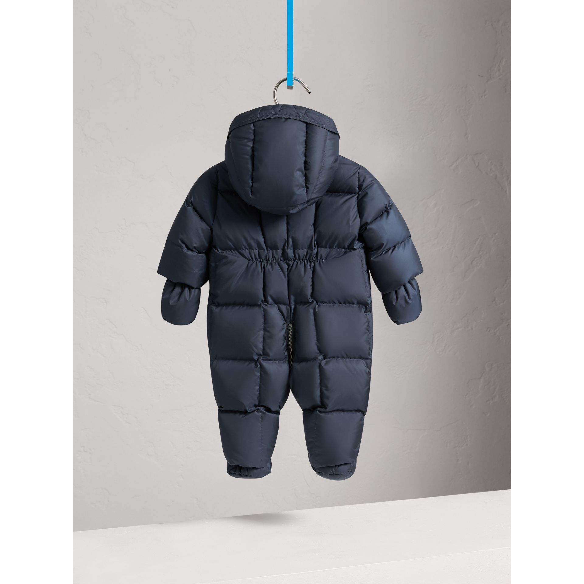 Down-filled Puffer Suit in Navy | Burberry - gallery image 3