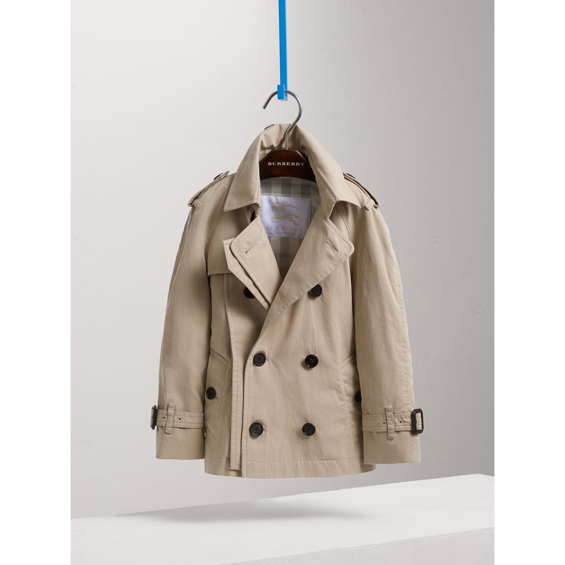 Tropical Gabardine Trench Jacket - Boy | Burberry - gallery image 3