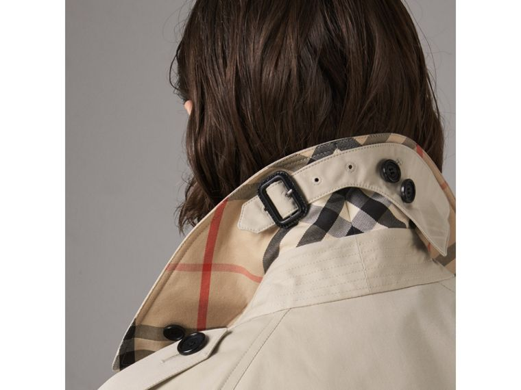 The Westminster - Trench coat extra lungo (Pietra) - Donna | Burberry - cell image 1