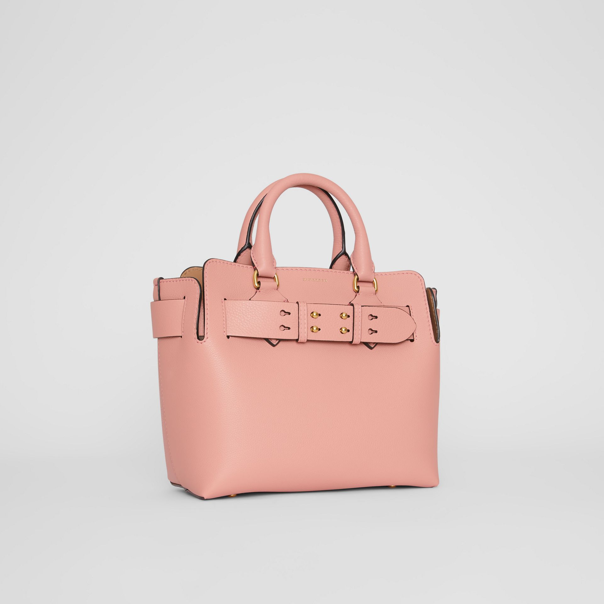 The Small Leather Belt Bag in Ash Rose - Women | Burberry Singapore - gallery image 6