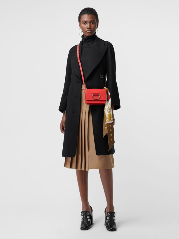 Mini sac The D-ring en cuir (Rouge Vif) - Femme | Burberry Canada - cell image 2