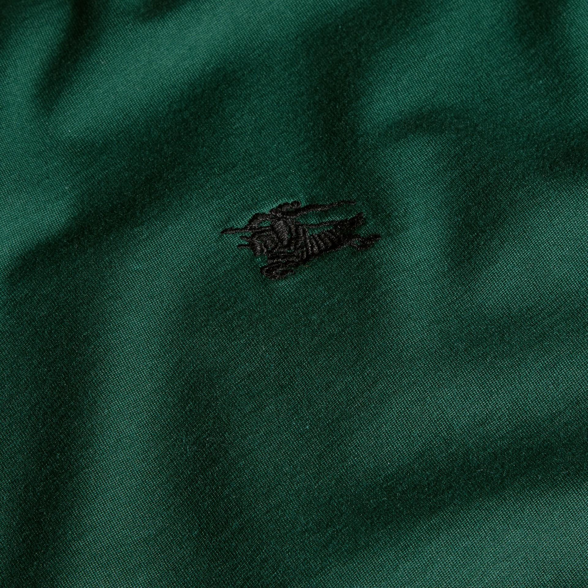Vert racing T-shirt en coton ultra-doux Vert Racing - photo de la galerie 2