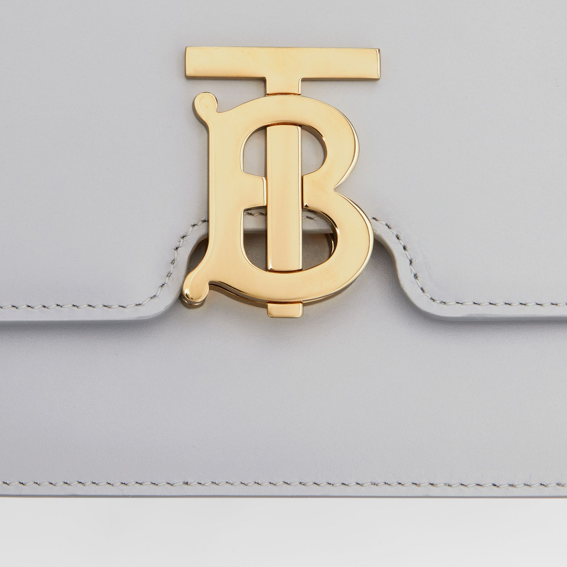 Small Leather TB Bag in Heather Melange | Burberry - gallery image 10