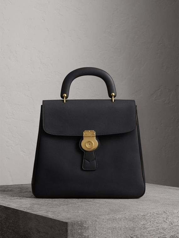 The Large DK88 Top Handle Bag in Black