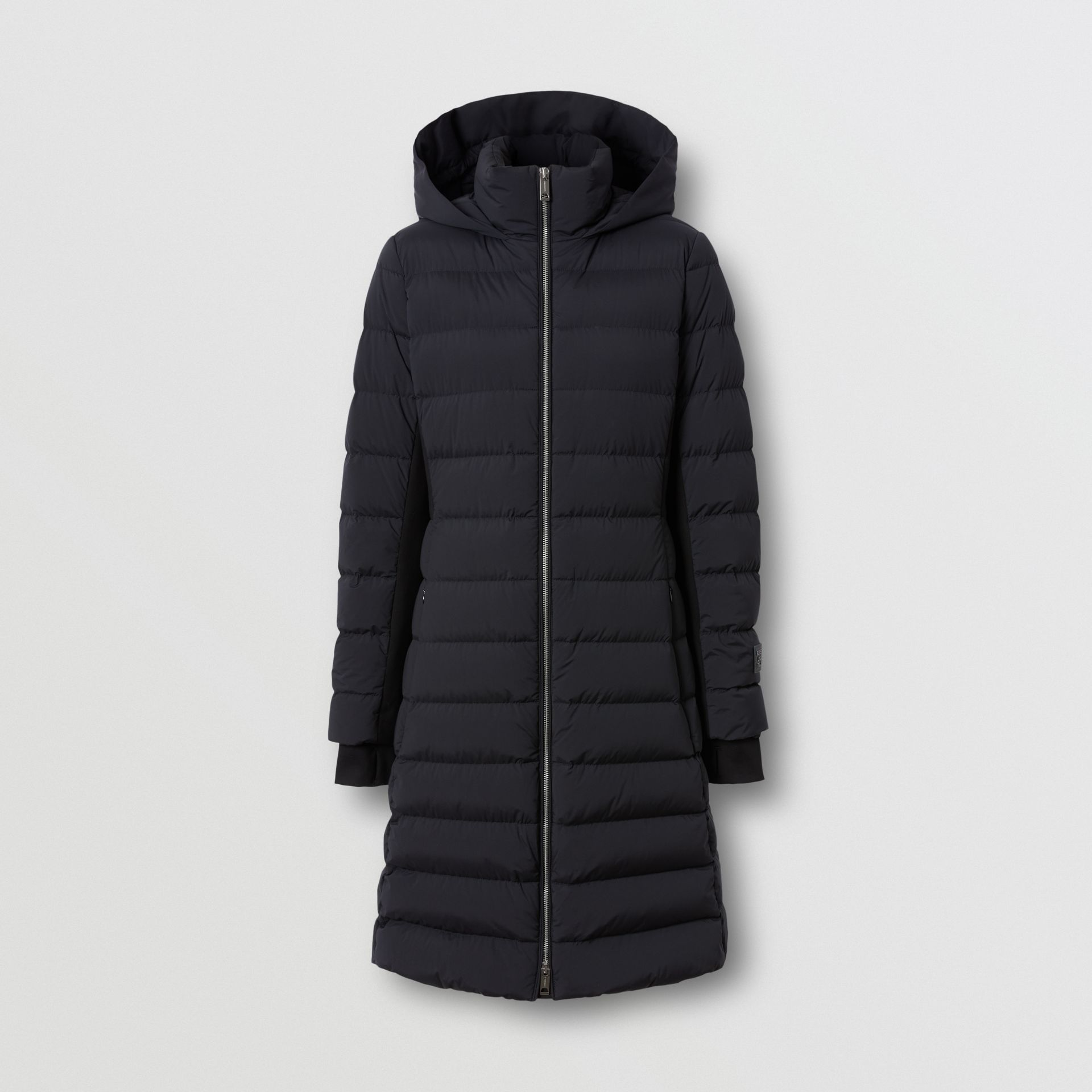 Hooded Puffer Coat in Black - Women   Burberry United States - gallery image 3